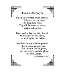photo regarding Printable Lords Prayer named Lords Prayer Bible Video games, Crafts and Courses